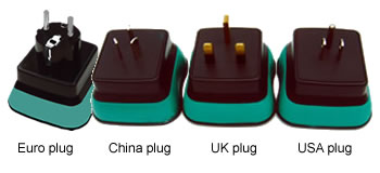 UK plug, Euro plug, USA plug, China plug system of DY207