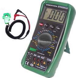 DY2201D Automotive Meter with ms pluse width measurement