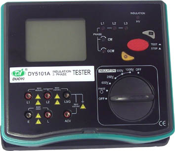 Insulation 3 Phase Tester DY5101A