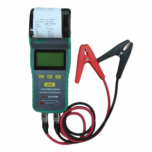 DY2015B, DY2015C Automotive Battery System Tester with Printer