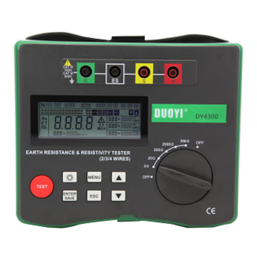 DY4300  4-Terminal Earth Resistance Testers & Soil Resistivity Testers