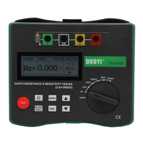 DY4300B  4-Terminal Earth Resistance and Soil Resistivity Testers